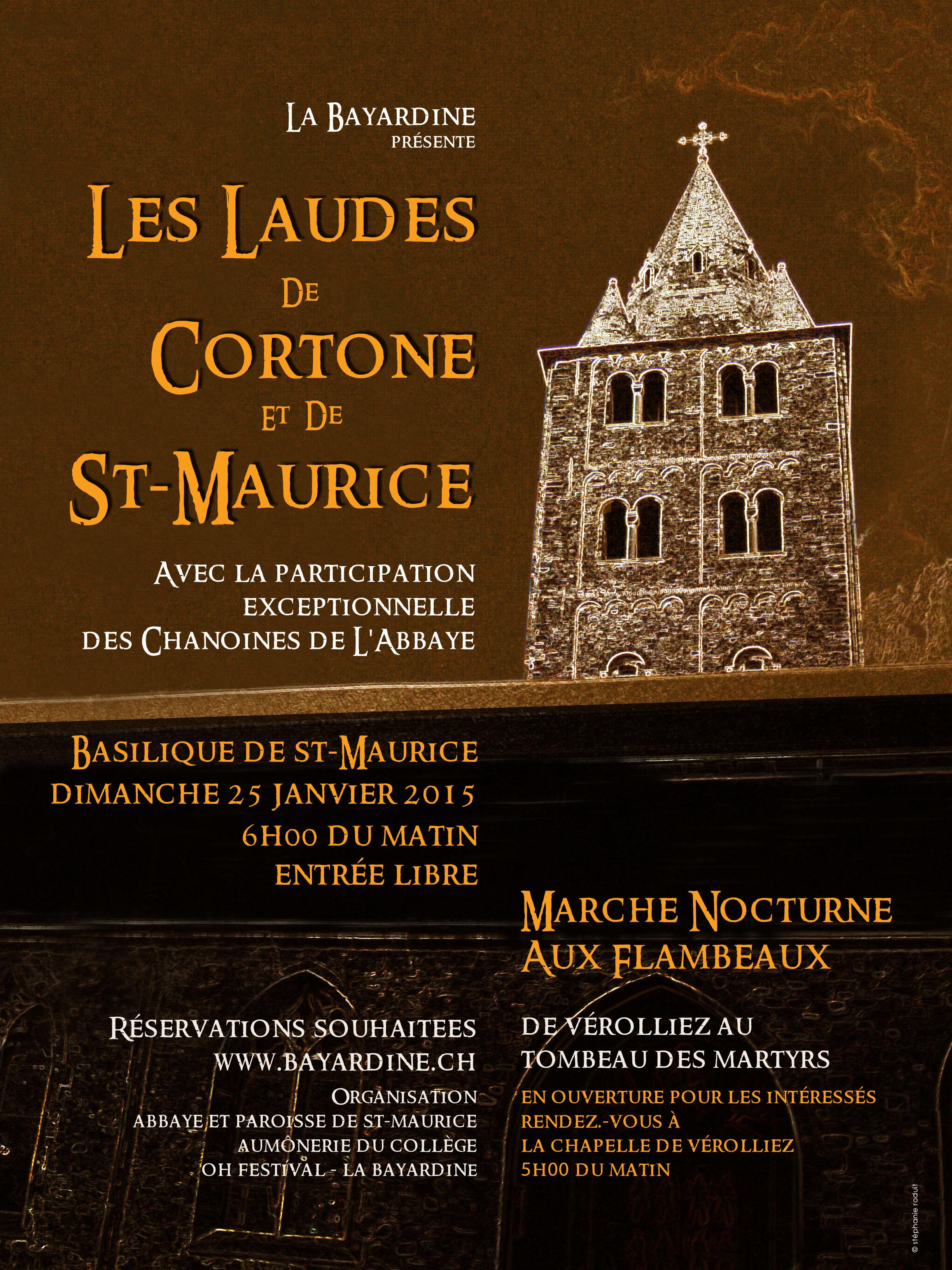Les Laudes de Corton & St-Maurice