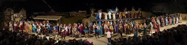 L'épopée du comte vert. Fêtes Médiévales de Saillon 2015