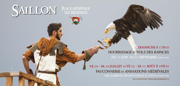 Fauconnerie, animations & théâtre médiéval : Le Décaméron